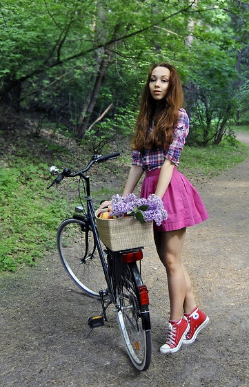 Ladies Cycling Skirt