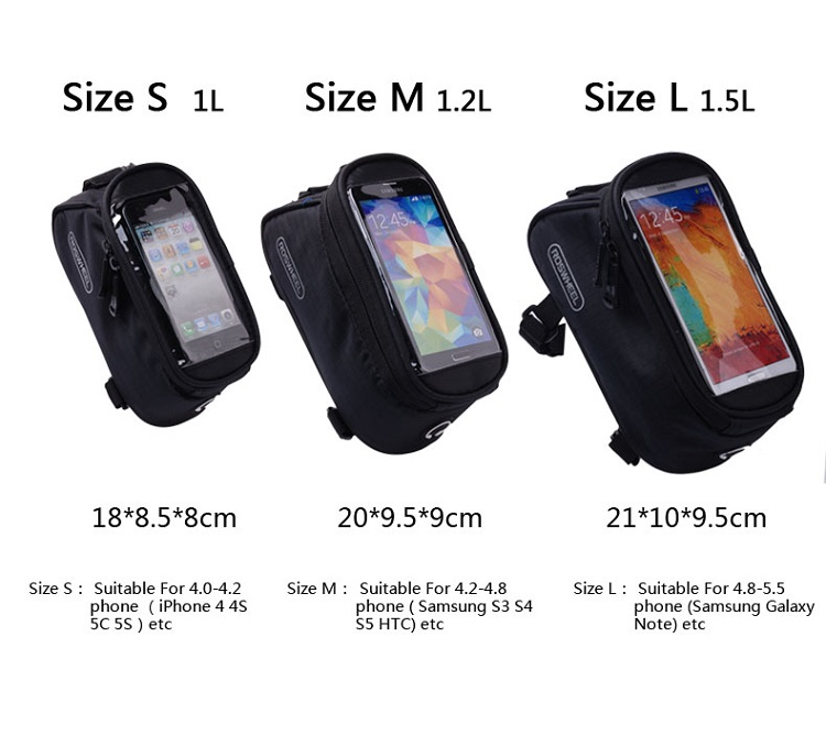 Roswheel Bag Sizing Chart