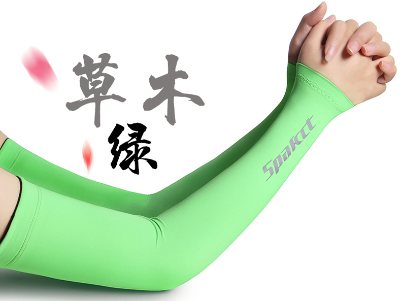 Spakct Sun Protection Cycling Handsock Sleeve apparel compression  half finger  outdoor oversleeve