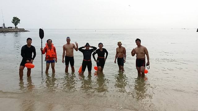 Penang Tikus Island Swim Open Water Swim with POWS