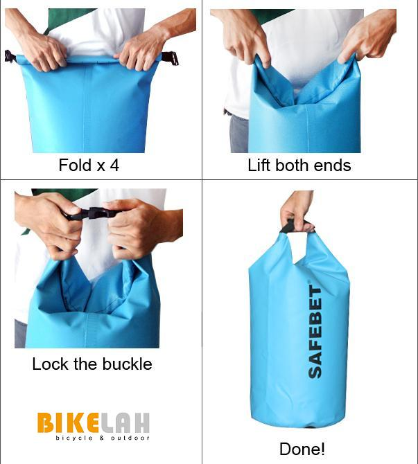 How To Use Dry Bag Bikelah